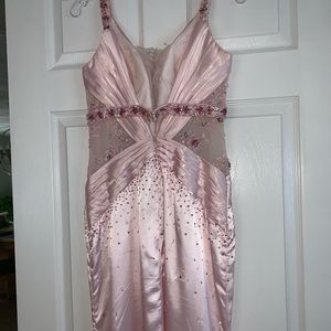 Tony Bowls Dresses - Pink Tony Bowls Prom Dress